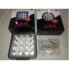 LED LAMPA ČETVRTASTA16 DIODA SIFRA 919